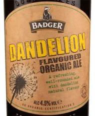 Badger Danelion Organic Ale